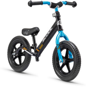 s'cool pedeX race light Enfant, anodised black/blue